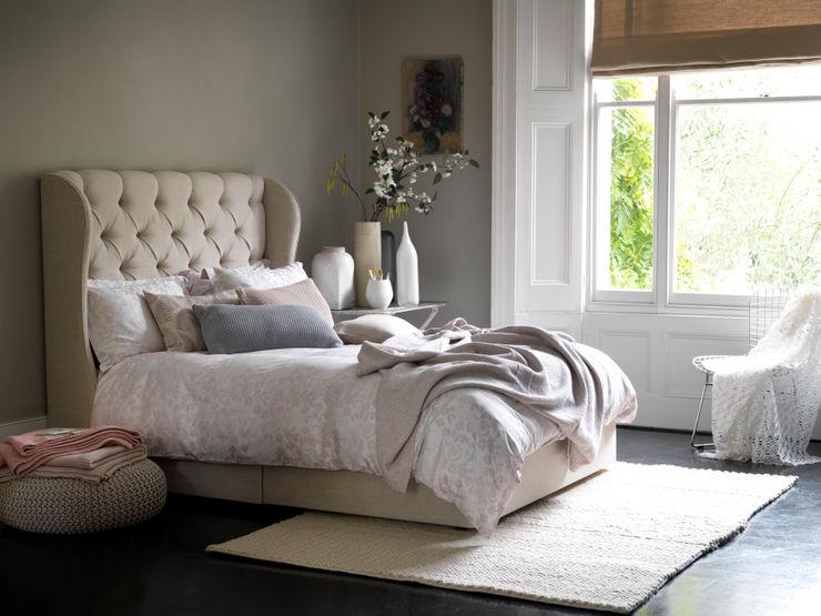 Camelia Divan Button & Sprung DormitoriosCamas y cabeceros