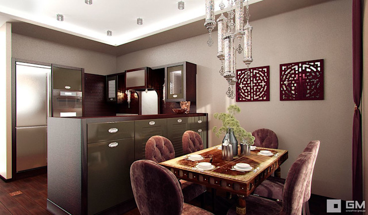 GM-interior Eclectic style kitchen