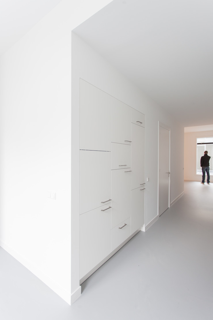 architectenbureau Huib Koman (abHK) Cucina minimalista