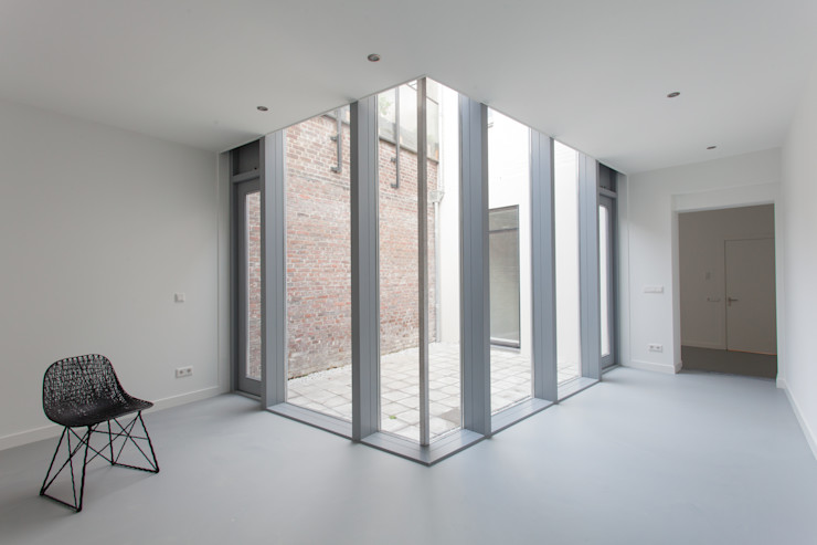 architectenbureau Huib Koman (abHK) Soggiorno moderno