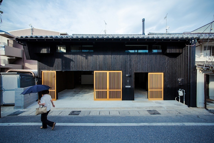 タクタク/クニヤス建築設計 Asiatische Häuser