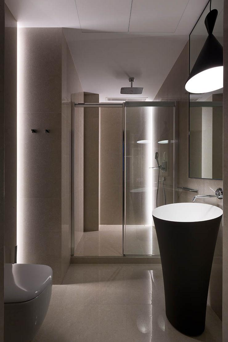 INCUBE Алексея Щербачёва Minimalist style bathroom
