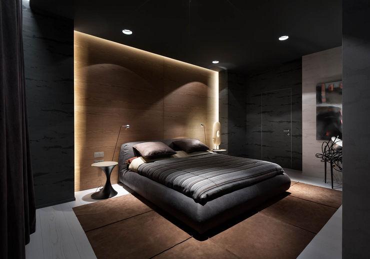 INCUBE Алексея Щербачёва Minimalist bedroom
