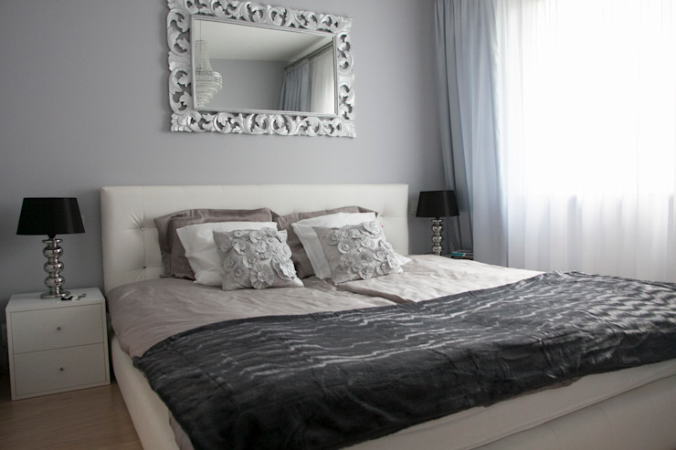A&A Studio Wnętrz Dormitorios de estilo moderno