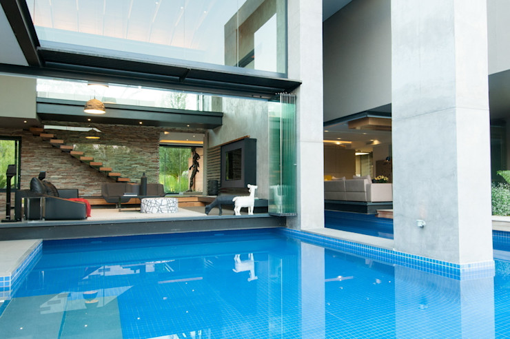 House in Blair Atholl Nico Van Der Meulen Architects Modern Terrace