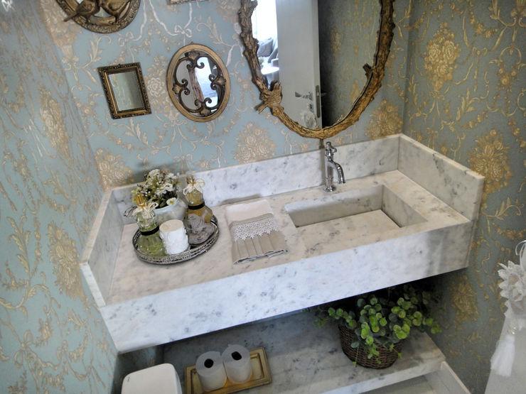 Gabriela Herde Arquitetura & Design 浴室