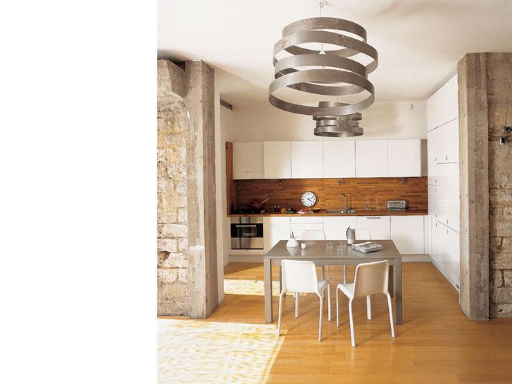 atelier julien blanchard architecte dplg Modern Kitchen
