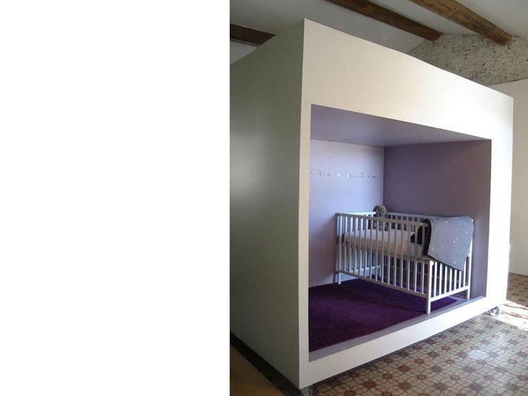 atelier julien blanchard architecte dplg Eclectic style nursery/kids room