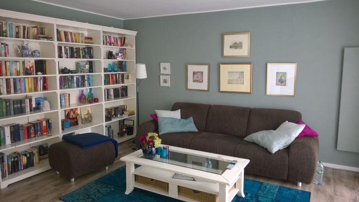 Wohnzimmer - Nachher Interiordesign - Susane Schreiber-Beckmann gestaltet Räume. Wohnzimmer im Landhausstil