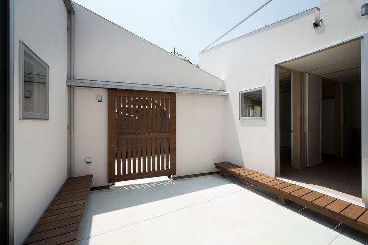 DOG COURTYARD HOUSE 充総合計画 一級建築士事務所 地中海風 庭
