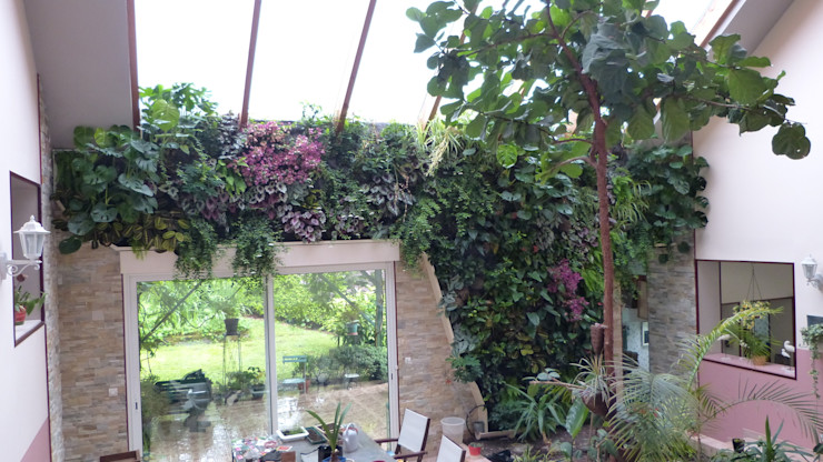Vertical Flore Tropical style conservatory