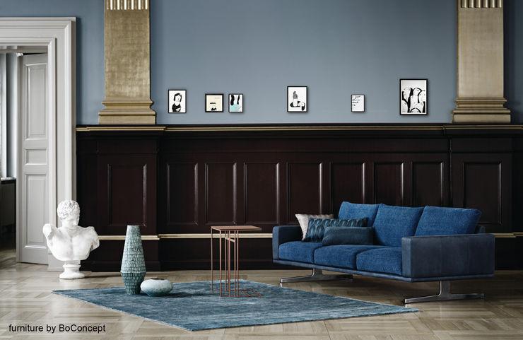 Zeichnungen von Aligna Vergnano homify Klassische Wohnzimmer