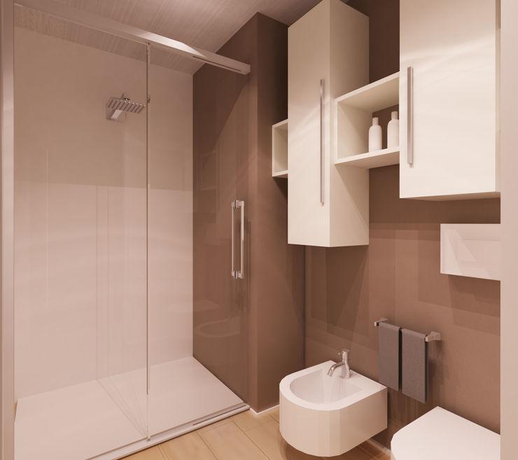 bagno:doccia e sanitari Azzurra Lorenzetto Bagno moderno