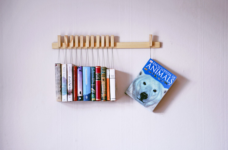 Book rack in Ash agustav 거실선반