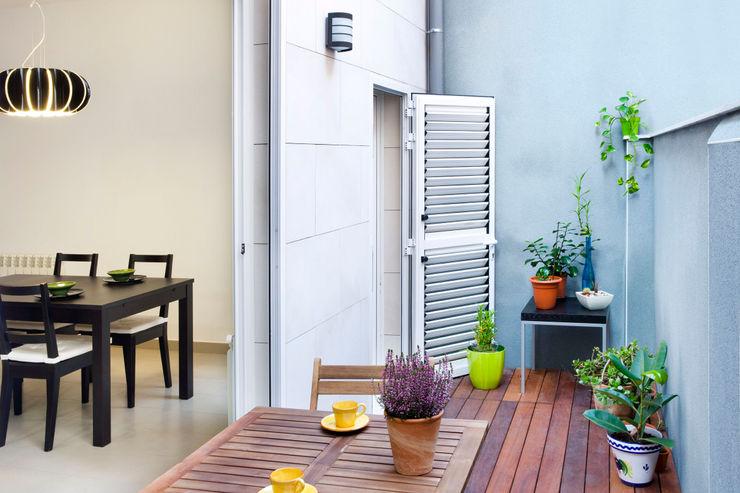 GPA Gestión de Proyectos Arquitectónicos ]gpa[® Balcone, Veranda & Terrazza in stile mediterraneo
