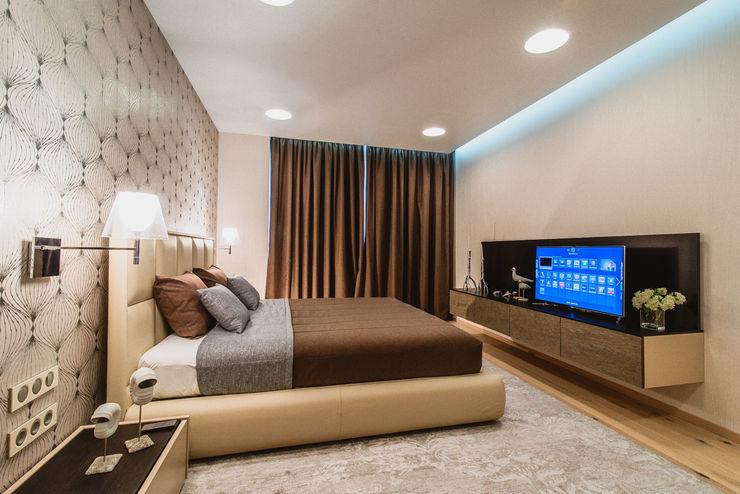 INCUBE Алексея Щербачёва Modern Bedroom