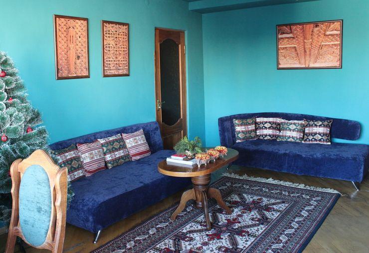 Фото гостиной после ремонта. L'Essenziale Home Designs Гостиные в эклектичном стиле
