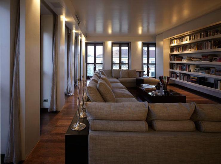 Penthouse - Milano MRP ARCHITETTURE SRL Soggiorno moderno
