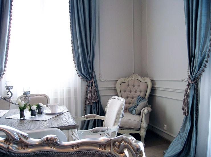 NG-Studio. Interior design of dinning room in residence on Cote d'Azur. NG-STUDIO Interior Design SoggiornoDivani & Poltrone