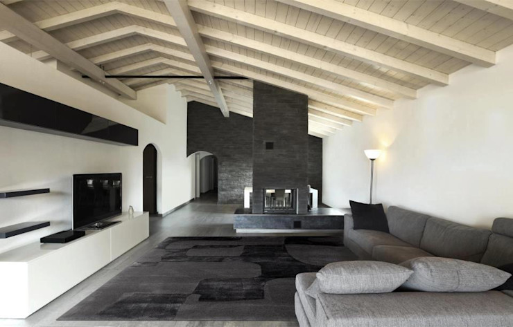 Shadow Grey Cavalcanti Modern living room