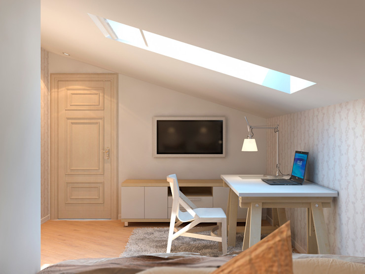 Aledoconcept Scandinavian style bedroom