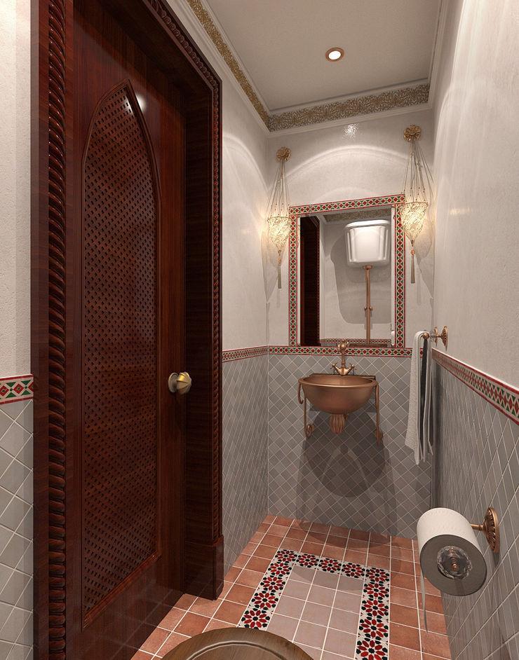 Aledoconcept Asian style bathroom