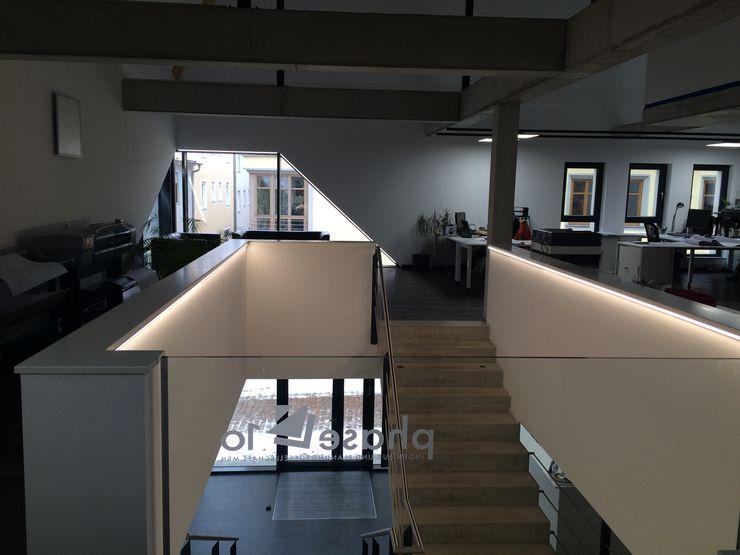 phase 10 Planungs- und Ingenieurgesellschaft mbH Офисы и магазины в стиле модерн