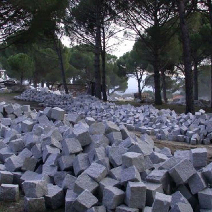 BAZALT KÜPTAŞ Jardines modernos