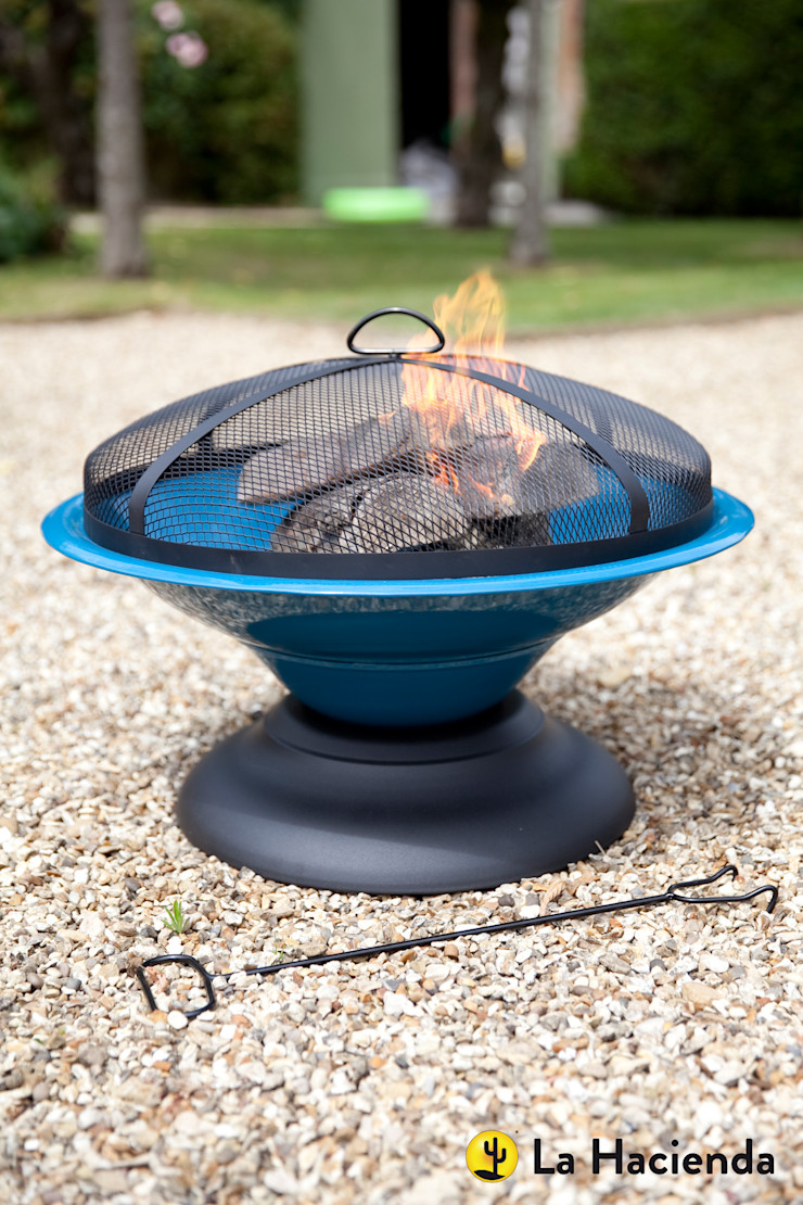 Moda - blue La Hacienda Garden Fire pits & barbecues