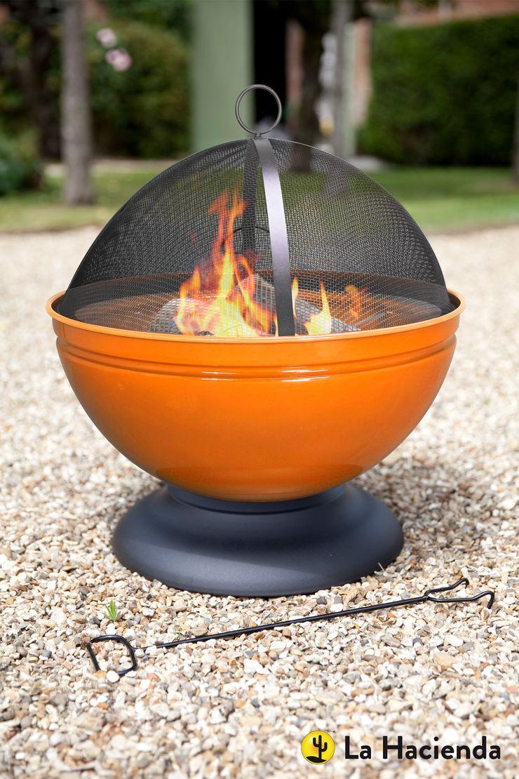 Globe - orange La Hacienda Garden Fire pits & barbecues