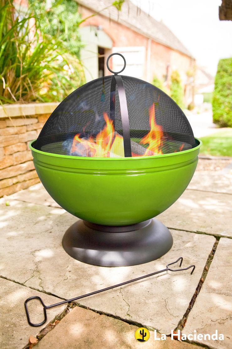 Globe - lime La Hacienda Garden Fire pits & barbecues