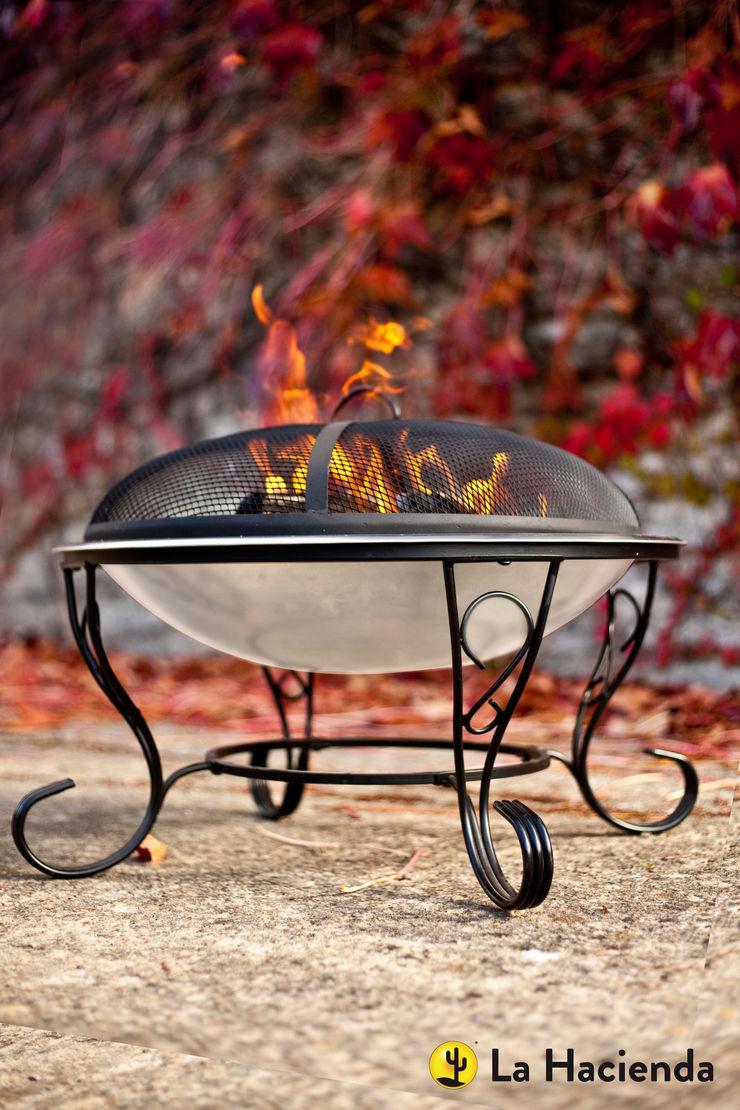 San Diego La Hacienda Garden Fire pits & barbecues