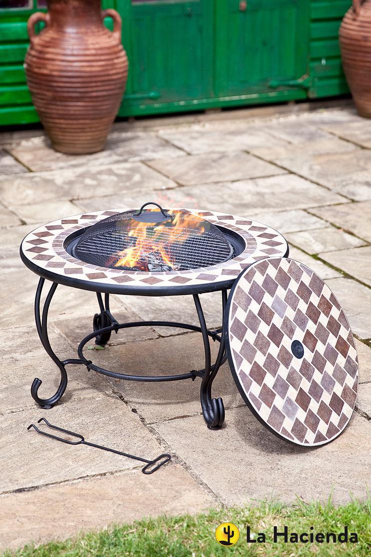 Napoli with grill La Hacienda Garden Fire pits & barbecues