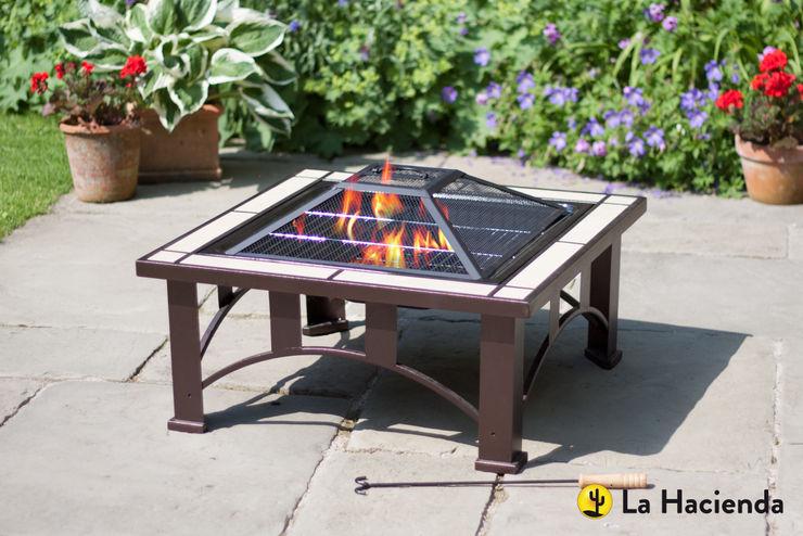 Venice with grill La Hacienda Garden Fire pits & barbecues