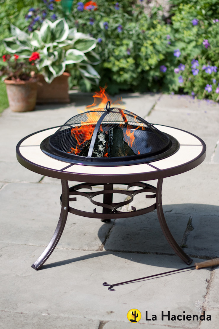 Tuscany with grill La Hacienda Garden Fire pits & barbecues