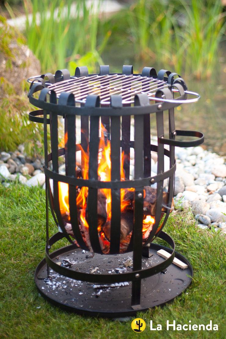 Vancouver with grill La Hacienda Garden Fire pits & barbecues