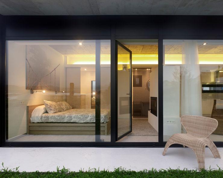 Nan Arquitectos Дома в стиле минимализм