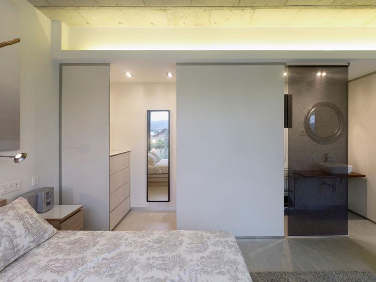 Nan Arquitectos Спальня в стиле минимализм