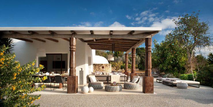 Terrace TG Studio Balcones y terrazas mediterráneos