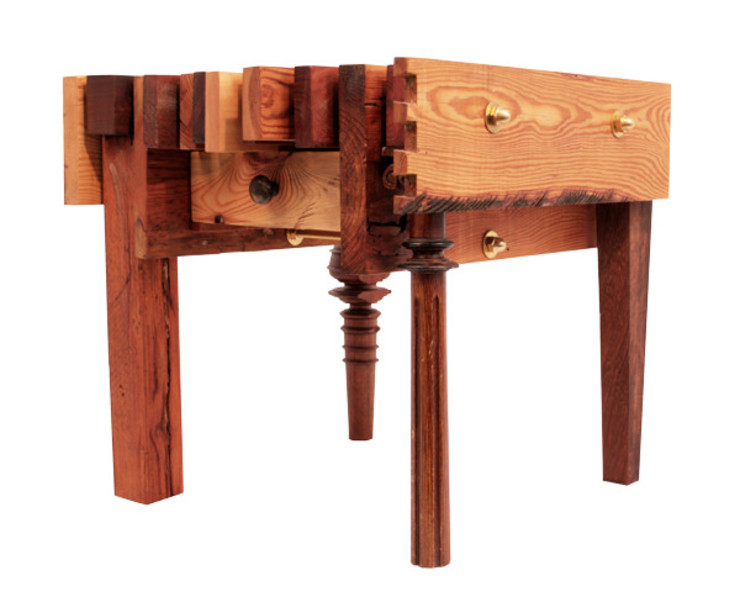 ORTerfinder Living roomSide tables & trays Solid Wood