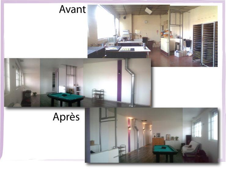 Etage X-ACT DESIGN Chambre industrielle
