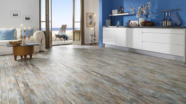 homify Walls & flooringWall & floor coverings Cork Multicolored
