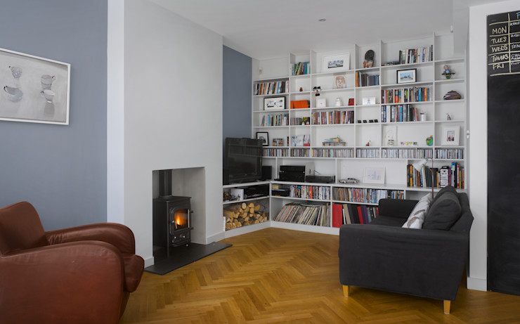 Redston Road Andrew Mulroy Architects Modern living room