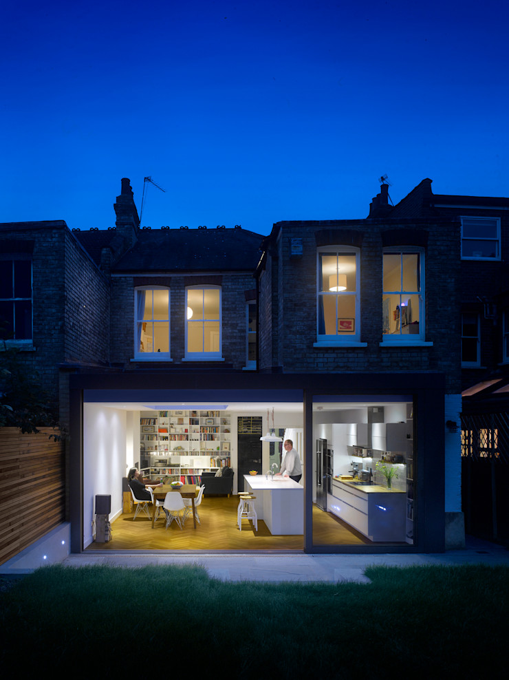 Redston Road Andrew Mulroy Architects Modern houses