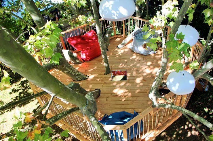Cabaneo Balcones y terrazas asiáticos
