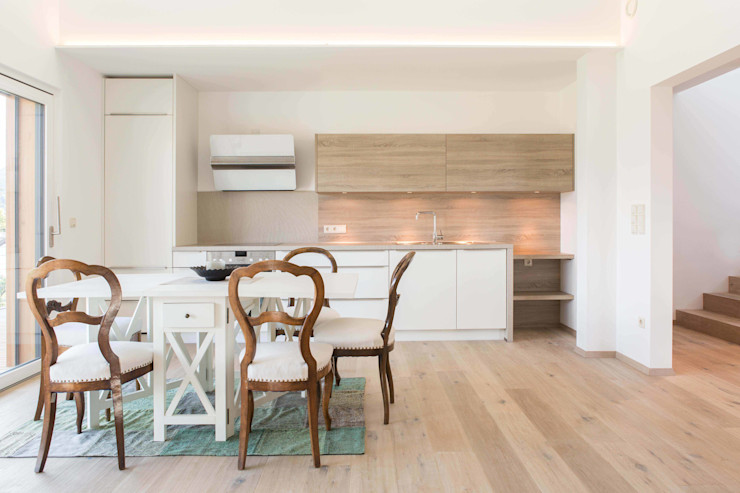 House KaTo Manuel Benedikter Architekt Cucina moderna