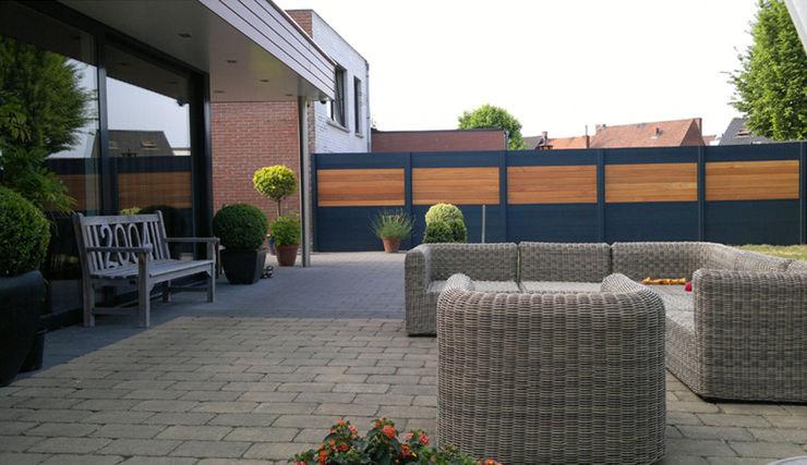 Palissade IdéAl - Deck-linéa Deck-linéa Jardin moderne