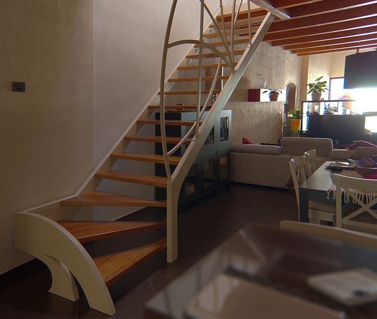 Studio Architettura Arch. Francesca Tronci ห้องทานข้าว