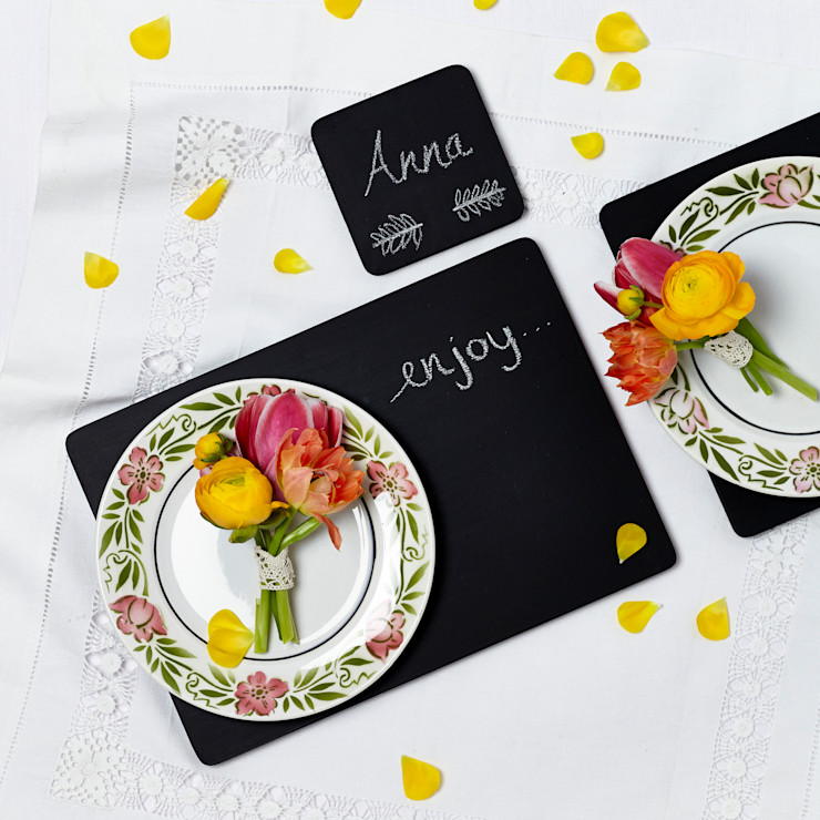 Chalkboard Placemats Altered Chic Dining roomAccessories & decoration