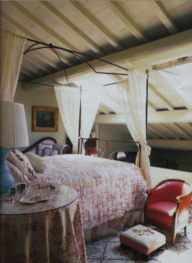Appartamento in Oltrarno - Firenze Studio Mazzei Architetti Camera da letto in stile classico